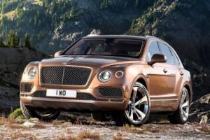 Россияне заказали 10% от общего тиража Bentley Bentayga