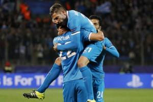 «Зенит» с Кержаковым в воротах победил «Гент» в Лиге чемпионов