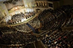 В Концертном зале имени Чайковского состоялся юбилейный вечер