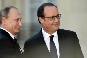 Кремль: сроки встречи Путина и Олланда уточнят в течение 1-2 дней