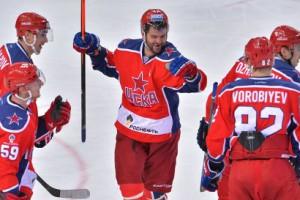 Хоккеистам ЦСКА приходится больше играть на результат в этом сезоне
