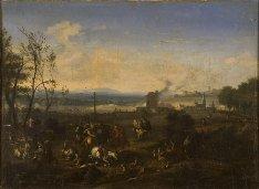 В запасниках Челябинского музея изобразительных искусств нашли картину Яна ван Хухтенбурга