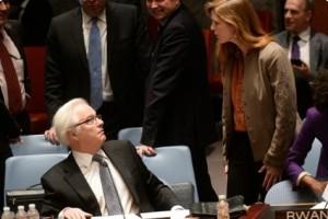 Чуркин заподозрил США в «неслучайных» ударах по позициям сирийской армии