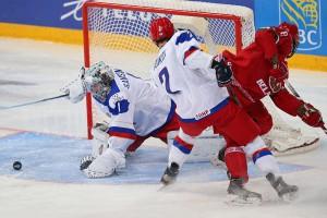 Российская «молодежка» вышла в плей-офф ЧМ по хоккею