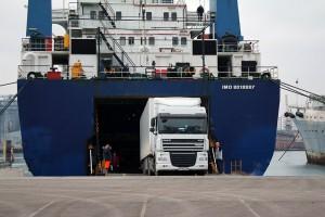 Паром «Варяг» привез из Турции крымских дальнобойщиков