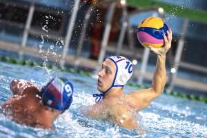 Мужская сборная России по водному поло уступила сербам в 1/4 финала Евро