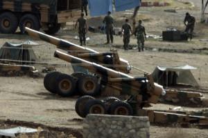 Турция провела артобстрел позиций курдов в Сирии