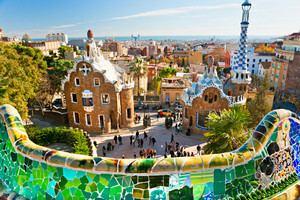 Испания: По Парку Гуэля можно гулять и бесплатно