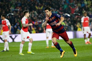 «Барселона» выбила «Арсенал» из Лиги чемпионов