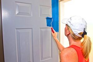 Двери. Принципы окраски дверей