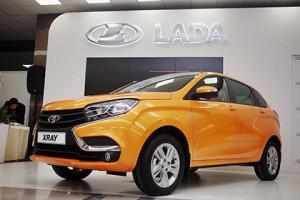 В России начались продажи кроссовера Lada XRay с новым двигателем