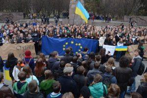 Националисты сорвали сессию Львовского горсовета