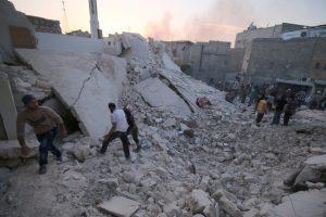 Боевики обстреляли Алеппо из минометов