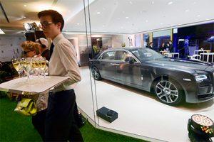 В России выросли продажи роскошных автомобилей