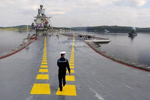 Минобороны назвало слухами дозаправку крейсера в Испании