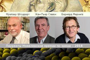 Нобелевскую премию по химии вручили за создание молекулярных машин