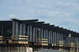 Строители Крымского моста отрапортовали о досрочном выполнении плана по опорам