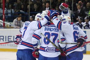 СКА одержал 14-ю победу подряд в КХЛ, на выезде разгромив «Локомотив»