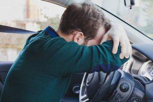 Уставшие водители имеют больше шансов попасть в аварию