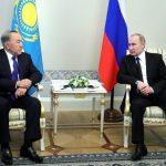 Путин и Назарбаев провели переговоры в Стрельне