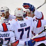 Хоккеисты СКА обыграли ЦСКА и вернулись на первое место в чемпионате КХЛ
