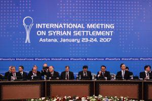 В Астане начались переговоры по Сирии