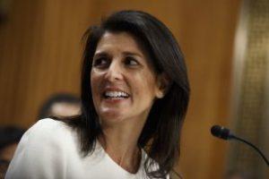 Сенат утвердил Ники Хейли новым постпредом США при ООН