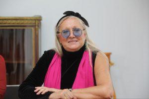 Президент фонда «Русский силуэт» Татьяна Михалкова принимает поздравления с юбилеем