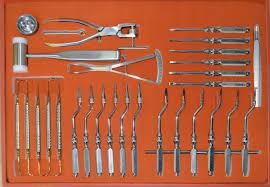 Хирургические наборы инструментов для имплантологов