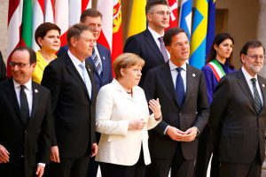 Лидеры Евросоюза отпраздновали юбилей организации на фоне дискуссий о ее возможном распаде