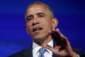 Обама впервые выступил на публике