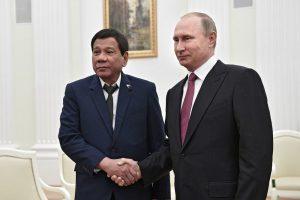 Глава Филиппин попросил Россию помочь с оружием
