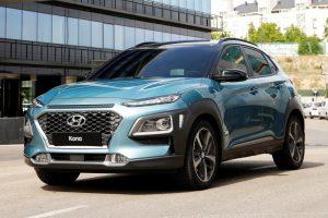 Hyundai представил компактный кроссовер Kona
