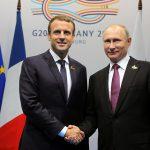 Макрон заявил о новом уровне сотрудничества с Россией по Сирии