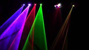 Организация празднества. Лазерное шоу.