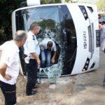 Туристы из РФ пострадали в ДТП с автобусом в Турции