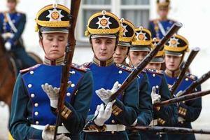 Туристы не увидят развод в Кремле