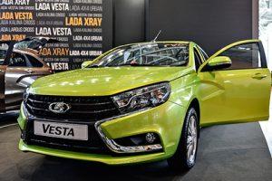 LADA Vesta стала официальным автомобилем Всемирного фестиваля молодежи