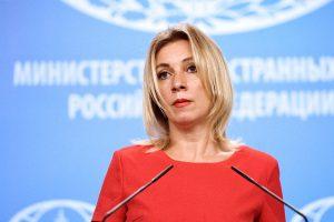 Захарова прокомментировала слова Меркель о Крыме
