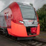 Завод «Уральские локомотивы» представил электропоезд повышенной комфортности