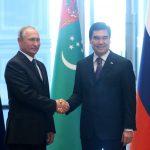 Владимир Путин посетил Туркмению с официальным визитом