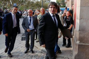 Глава Каталонии отказался от выступления в испанском Сенате