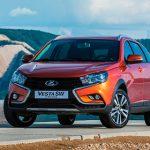 В России начались продажи универсала и кроссовера Lada Vesta