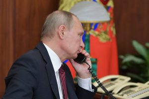 Путин и Трамп обсудили Сирию и Украину