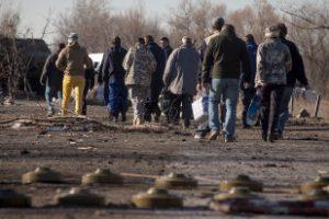 ЛНР направила пленных к месту обмена с властями Украины