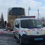Автобус с польскими туристами не смог покинуть Украину