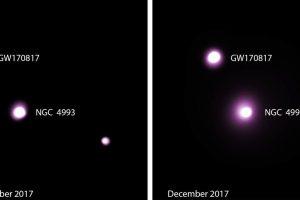 Столкновение нейтронных звезд ставит новые вопросы перед астрофизиками