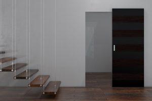 Виды скрытых дверей по способу отделки