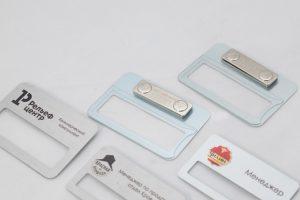 Качественные металлические бейджы для вашей компании