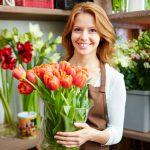 Доставка цветов флористами